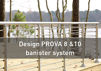 design the banister system
