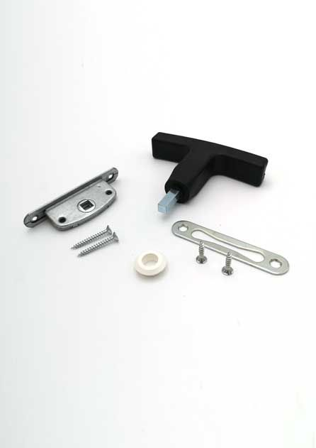 Lock kit 2000935 for fire-resistant wall hatch EI45
