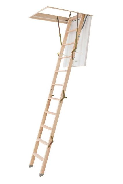 loft ladder for narrow spaces