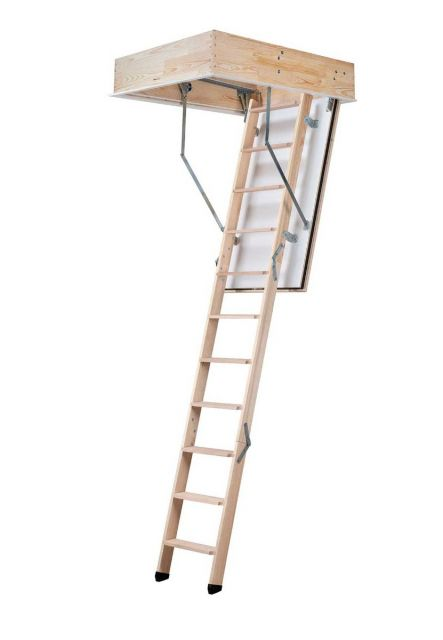 Fire-resistant loft ladder REI 45