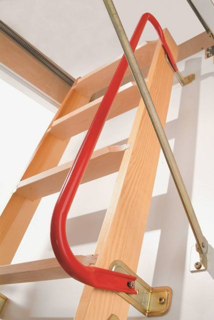 Handrail for DOLLE loft ladders with 3 section ladder