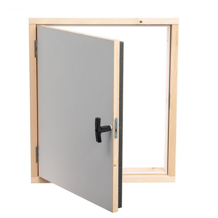 Fire-resistant wall hatch EI45