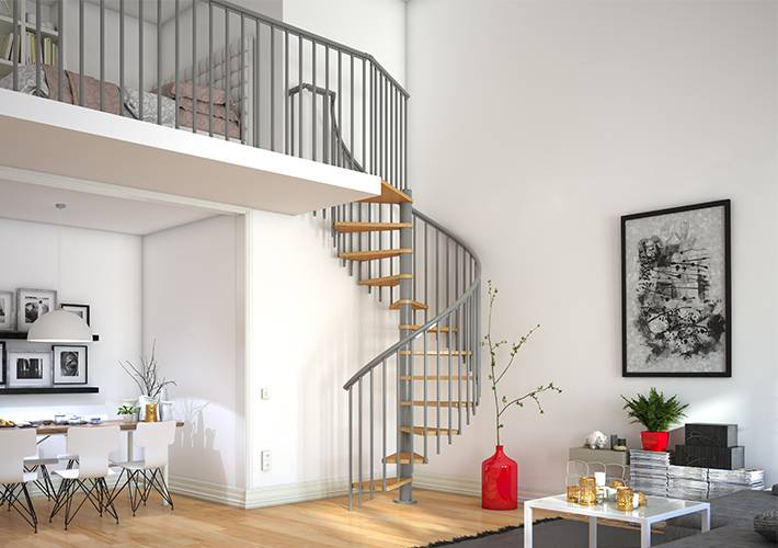 Spiral staircases from DOLLE
